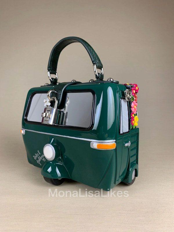 Dolce & Gabbana Floral Car Hand Made Box Bag - Monalisalikes
