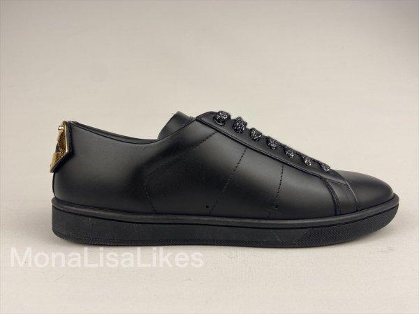 Saint Laurent Court SL/01 Snakeskin Lips Sneakers