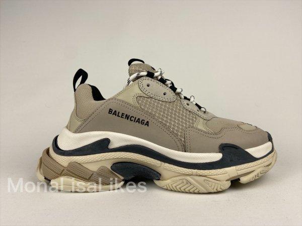 Balenciaga Triple S Beige Men's Sneakers