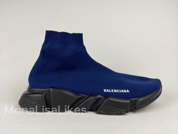 Balenciaga Speed trainer Sneakers Blue for men