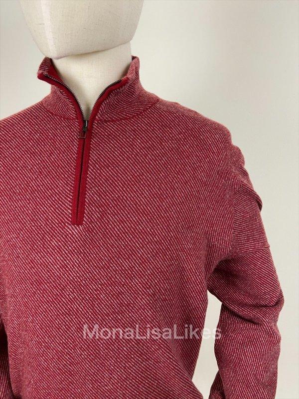 Loro Piana Cashmere Red Roadster Sweater