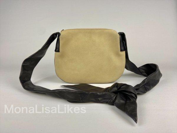 Celine Beige ribbon bag