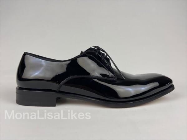 Salvatore Ferragamo Charles Patent Leather Shoes