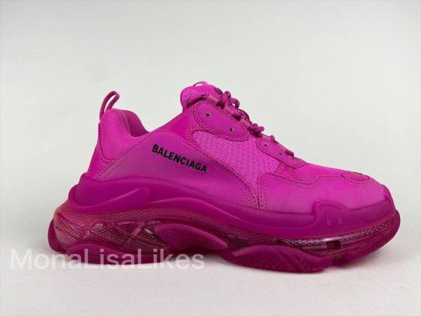 Balenciaga Triple S pink sneakers