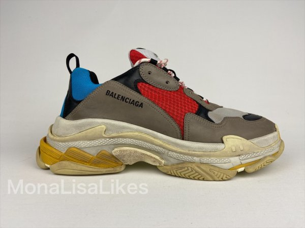 Balenciaga Triple S Multicolor Sneakers Track Shoes