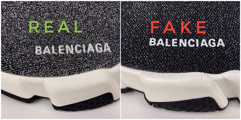 Balenciaga logo on silver and gray Speed Trainer Sock sneakers
