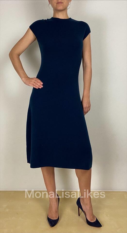 Loro Piana Baby Cashmere Dress on Blue