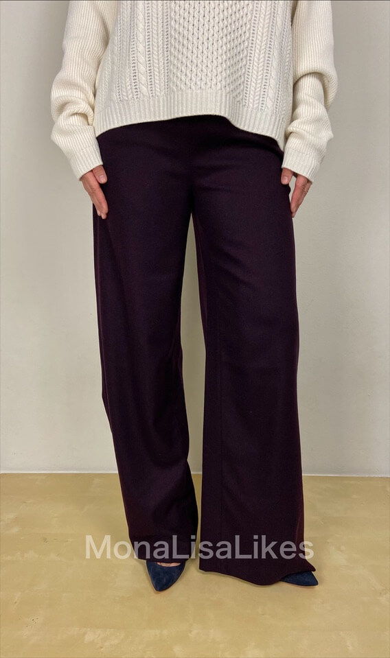 Loro Piana Cashmere Kevan Lounge Pants in purple